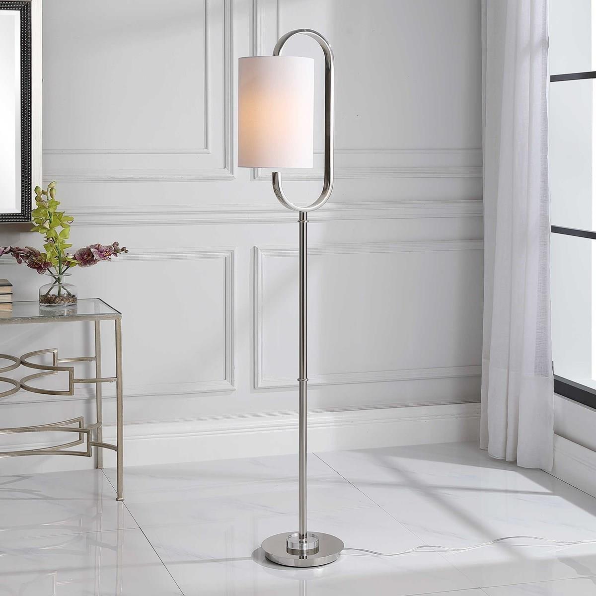 Floor Lamps SLOANE FLOOR LAMP by Unique at Walker's Furniture