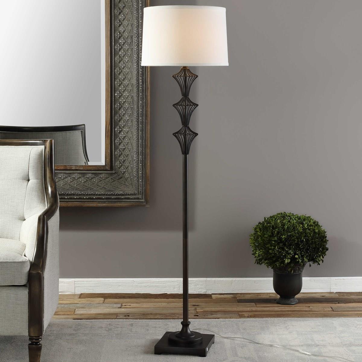 Floor Lamps NATALIA FLOOR LAMP by Unique at Walker's Furniture