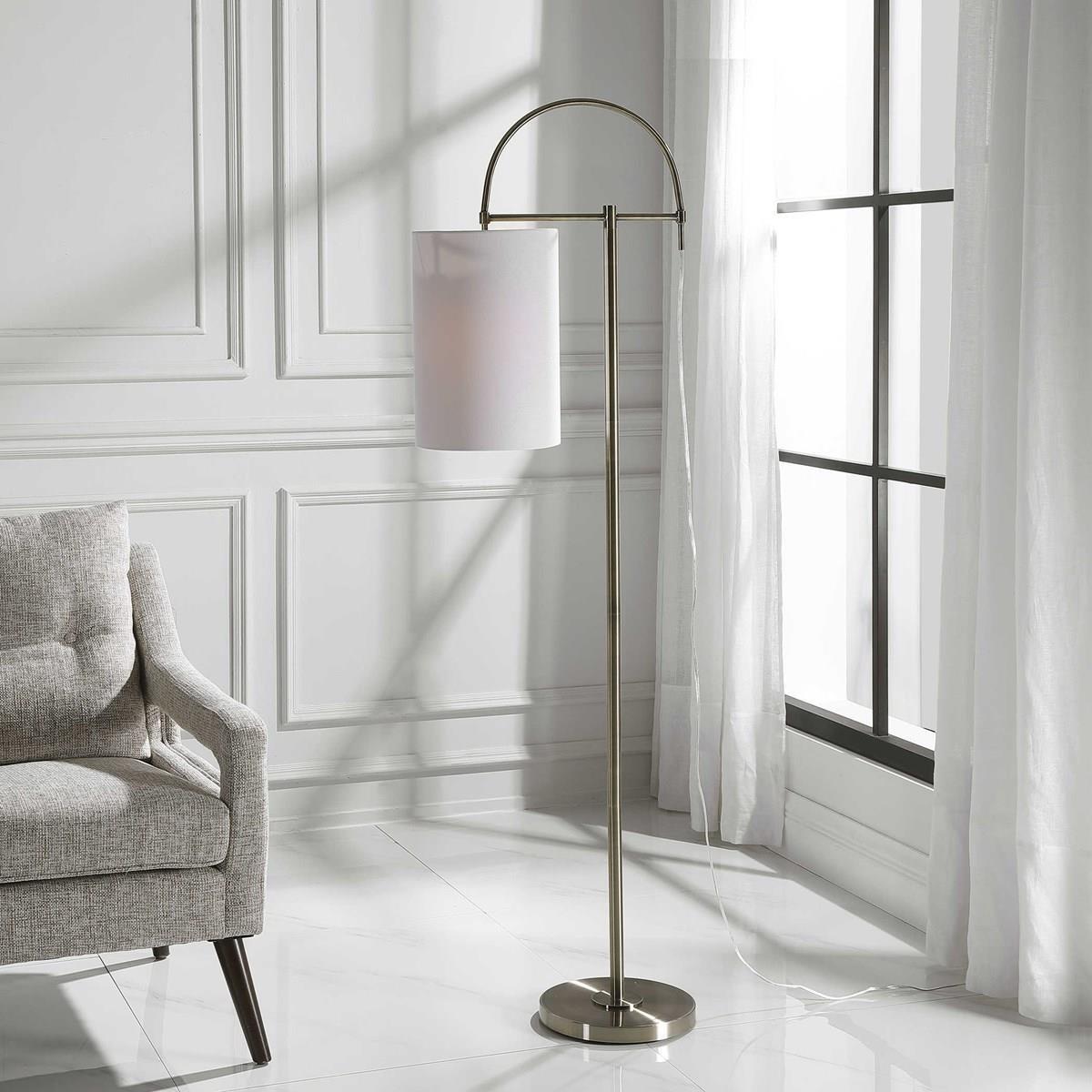 Floor Lamps RACHEL FLOOR LAMP by Unique at Walker's Furniture