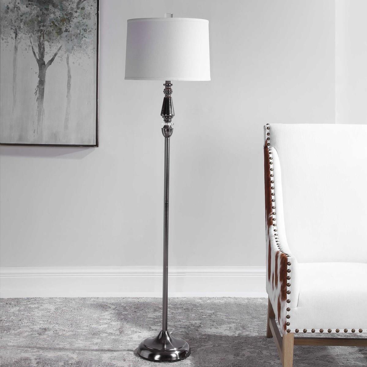 Floor Lamps EMERSYN FLOOR LAMP by Unique at Walker's Furniture