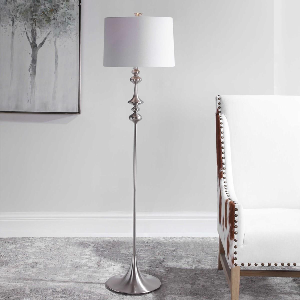 Floor Lamps CECELIA FLOOR LAMP by Unique at Walker's Furniture