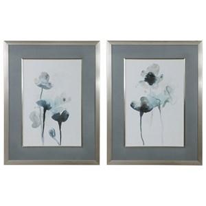 Midnight Blossoms Framed Prints