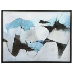 Winter Crop Abstract Print
