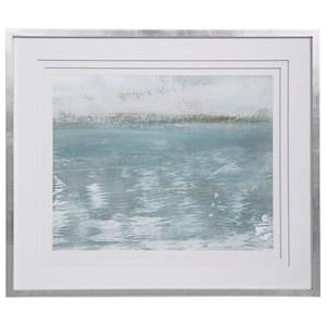 Sailing On Framed Print