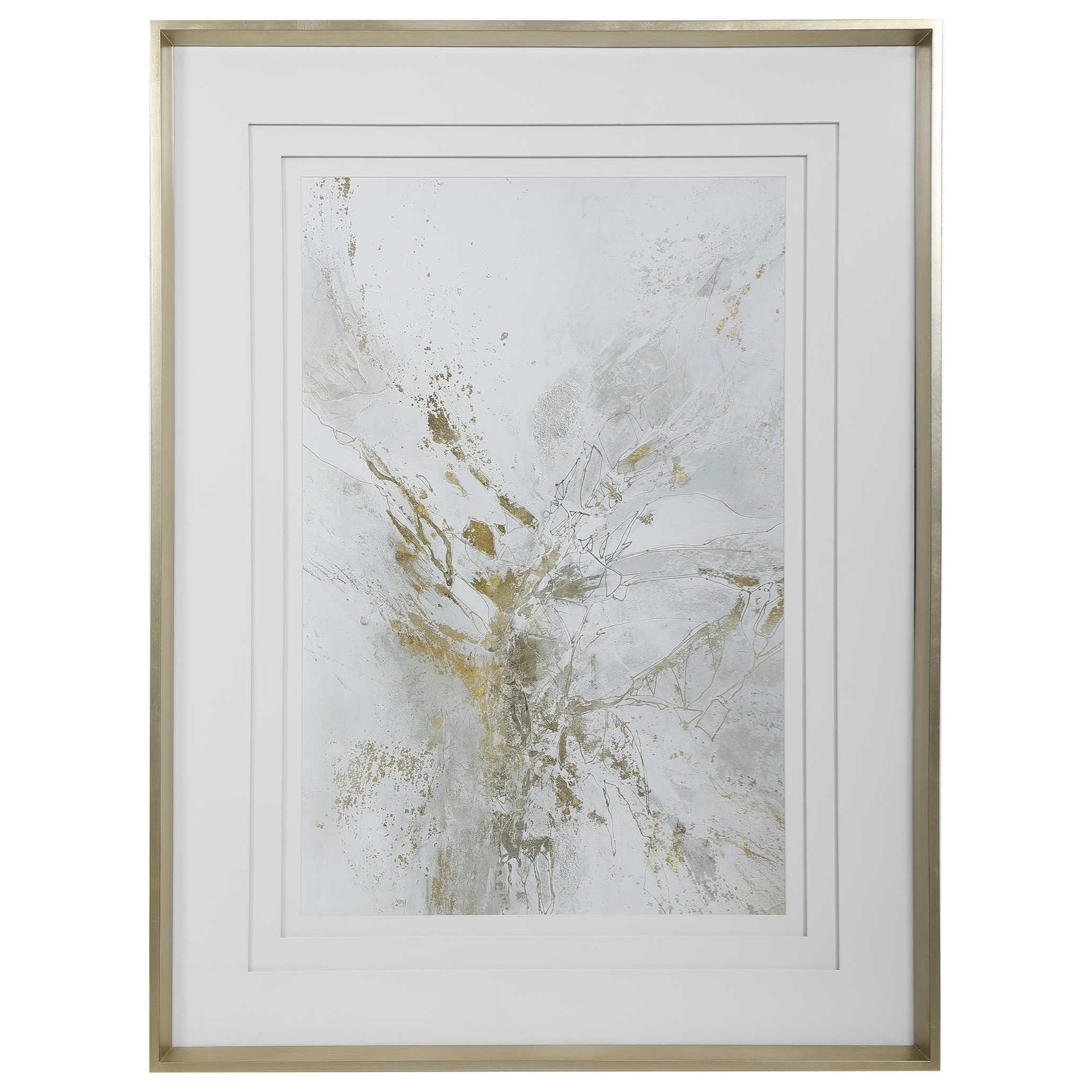 Framed Prints Pathos Framed Abstract Print by Uttermost at Mueller Furniture