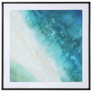 Bird's-eye View Coastal Print