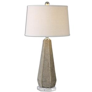 Uttermost Table Lamps Pontius Taupe Lamp