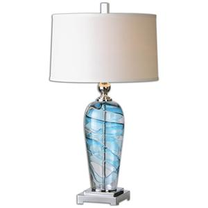 Uttermost Lamps Andreas Blown Glass Lamp