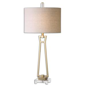 Uttermost Table Lamps Leonidas Gold Table Lamp