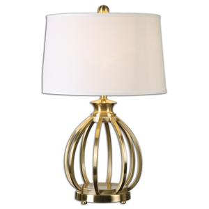 Uttermost Table Lamps Decimus Brass Lamp