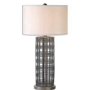 Uttermost Table Lamps Engel Metal Wire Lamp
