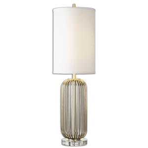 Uttermost Table Lamps Cesinali Gold Table Lamp