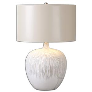 Uttermost Table Lamps Georgios Textured Ceramic Lamp