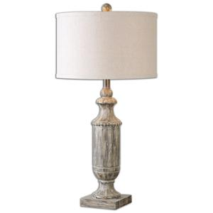 Uttermost Table Lamps Agliano Aged Dark Pecan Lamp