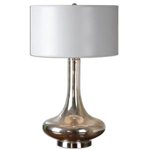 Uttermost Table Lamps Fabricius Mercury Glass Lamp