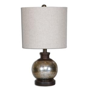 Uttermost Table Lamps Arago Antique Glass Table Lamp