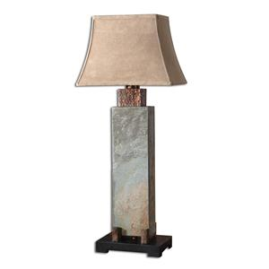 Uttermost Table Lamps Slate Tall Table
