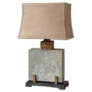 Uttermost Lamps Slate Square Table