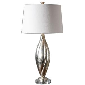 Uttermost Lamps Palouse Champagne Leaf Lamp