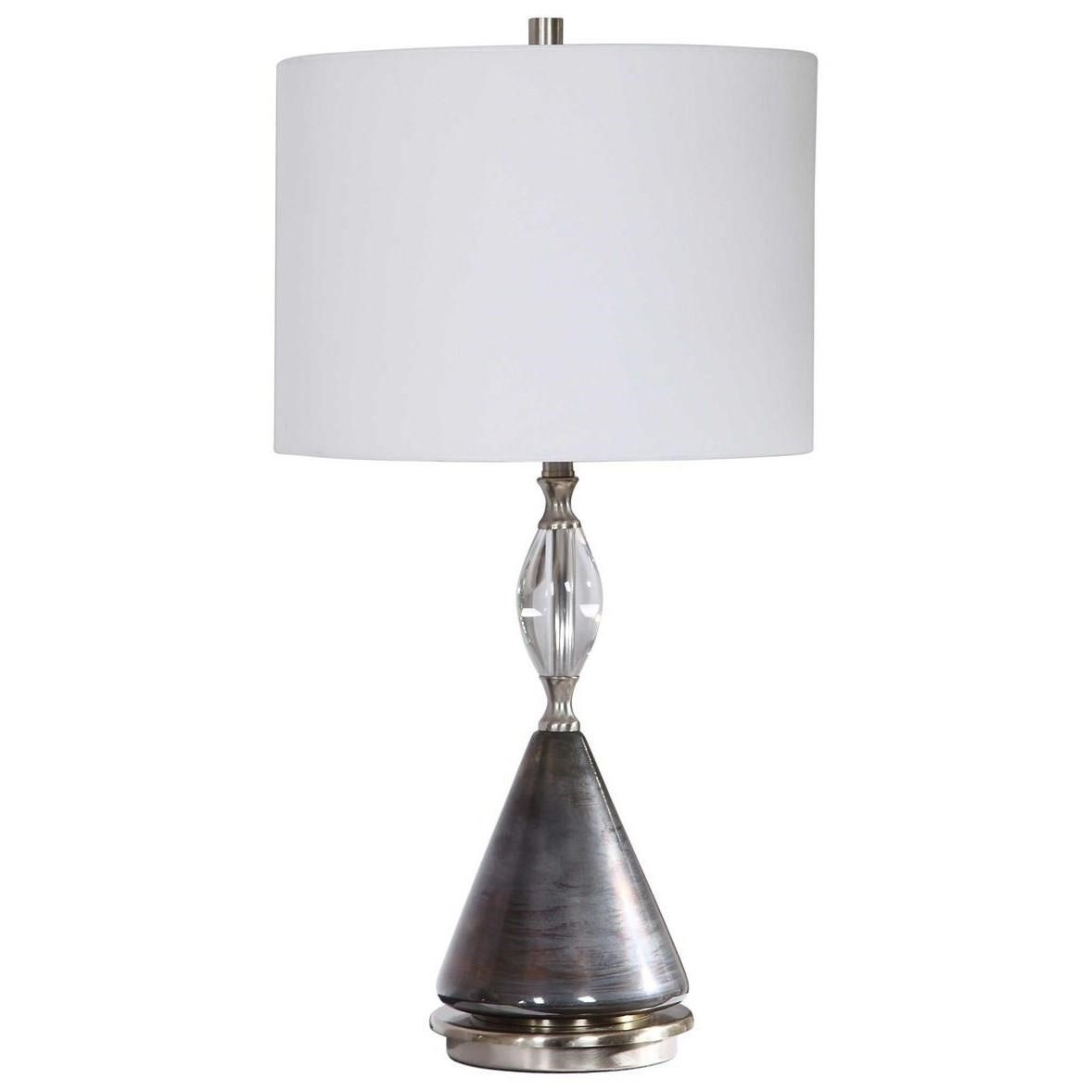 Table Lamps Cavalieri Dark Bronze Table Lamp by Uttermost at Mueller Furniture