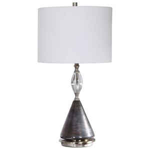 Cavalieri Dark Bronze Table Lamp