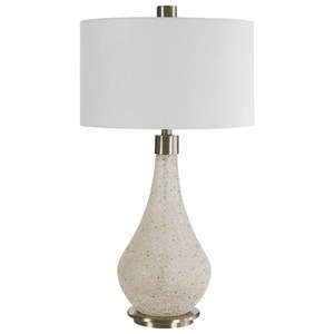 Chaya Textured Cream Table Lamp