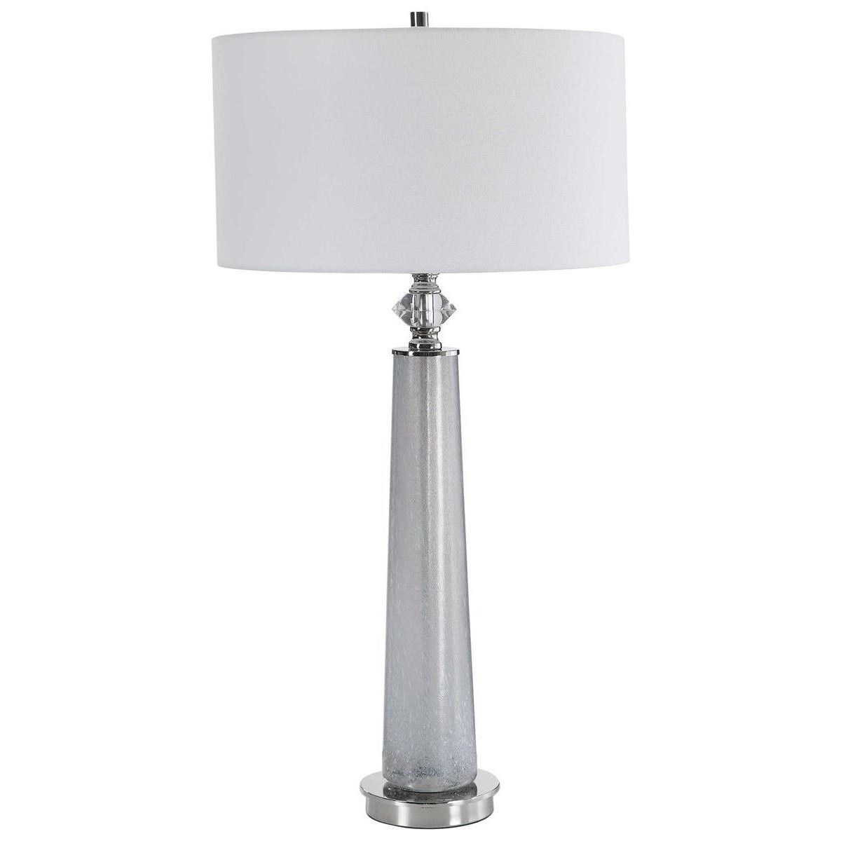 Table Lamps Grayton Frosted Art Table Lamp by Uttermost at Del Sol Furniture