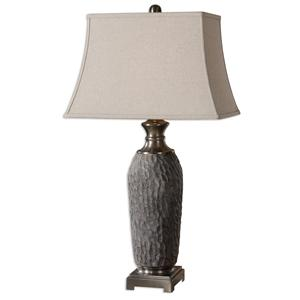 Uttermost Table Lamps Tricarico Textured Lamp