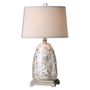 Uttermost Table Lamps Capurso Capiz Shell Table Lamp