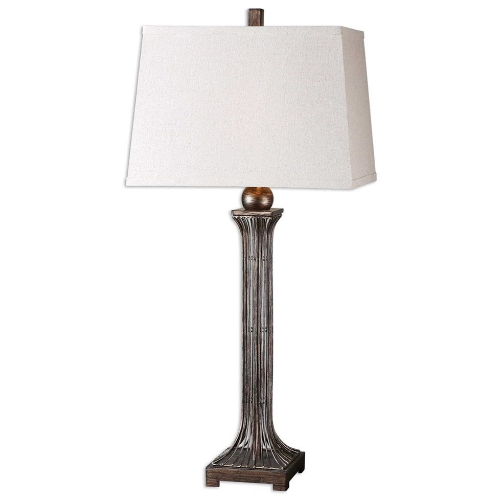 Table Lamps Coriano Table Lamp by Uttermost at Miller Waldrop Furniture and Decor