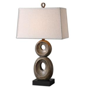 Uttermost Lamps Osseo Aged Table Lamp