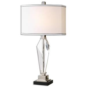 Uttermost Lamps Altavilla Crystal Table Lamp