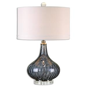 Uttermost Table Lamps Sutera Water Glass Table Lamp