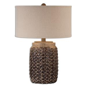 Uttermost Lamps Bucciano Textured Ceramic Table Lamp