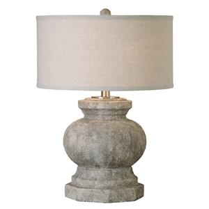 Uttermost Table Lamps Verdello Antiqued Stone Table Lamp