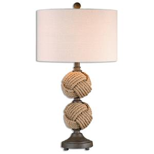 Uttermost Table Lamps Higgins Rope Spheres Table Lamp