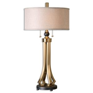 Uttermost Lamps Selvino Brushed Brass Table Lamp