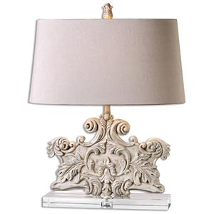 Uttermost Lamps Schiavoni Ivory Stone Table Lamp