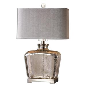 Uttermost Lamps Molinara Mercury Glass Table Lamp