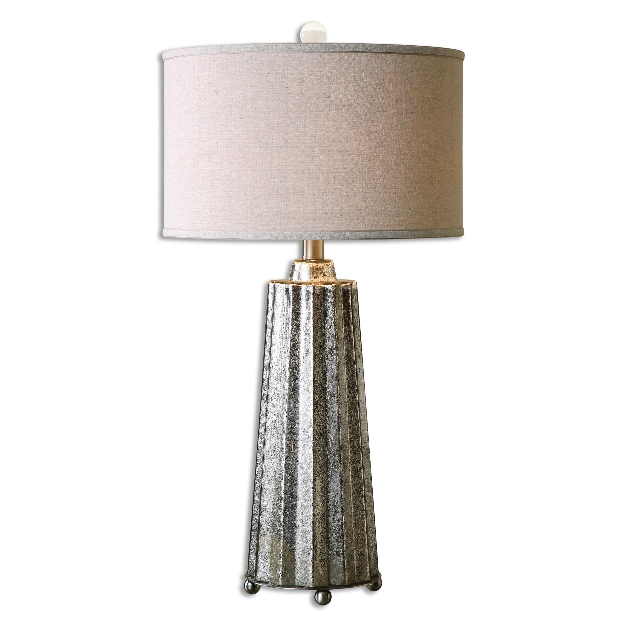 Table Lamps Sullivan Mercury Glass Table Lamp by Uttermost at Stuckey Furniture