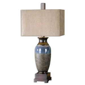Uttermost Table Lamps Antonito Textured Ceramic Table Lamp