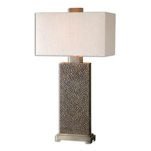 Uttermost Table Lamps Canfield Coffee Bronze Table Lamp