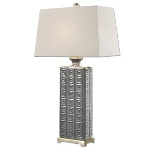 Uttermost Lamps Casale Aged Gray Lamp