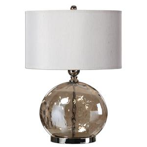 Uttermost Table Lamps Piadena Water Glass Lamp