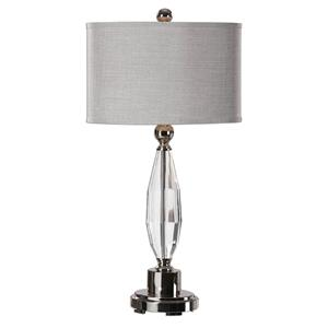 Uttermost Table Lamps Torlino Cut Crystal Lamp