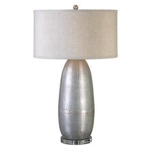 Tartaro Industrial Silver Table Lamp