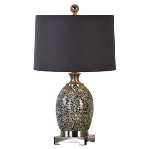 Madon Crackled Glass Table Lamp