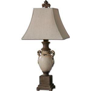 Uttermost Table Lamps Francavilla Ivory