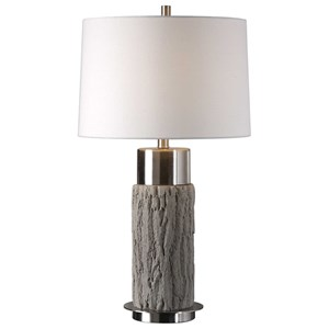 Bartley Old Wood Table Lamp