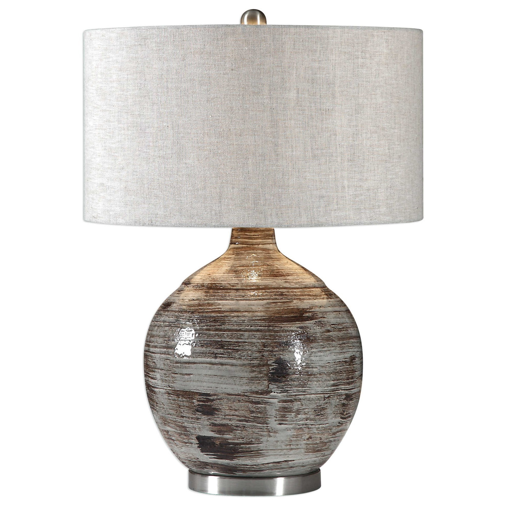 Table Lamps Tamula Distressed Ivory Table Lamp by Uttermost at Mueller Furniture